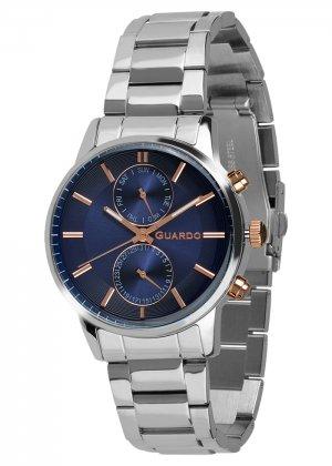 Zegarek Guardo B01068-4 Srebrny