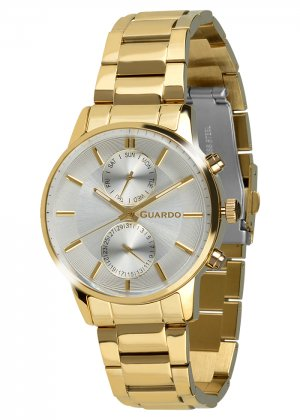 Zegarek Guardo B01068-6 Złoty
