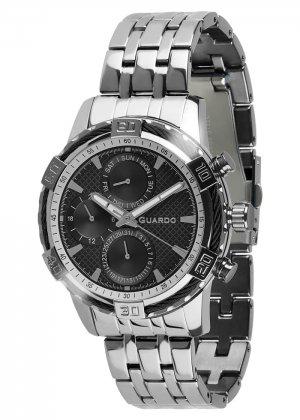 Zegarek Guardo B01352(1)-1 Srebrny