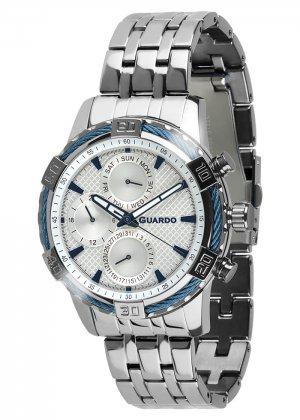 Zegarek Guardo B01352(1)-2 Srebrny