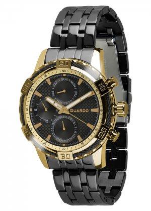 Zegarek Guardo B01352(1)-3 Złoty