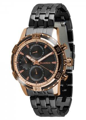 Zegarek Guardo B01352(1)-4 Różowe Złoto