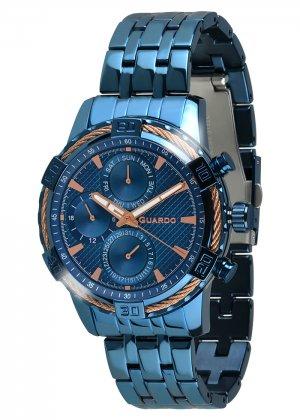 Zegarek Guardo B01352(1)-6 Niebieski