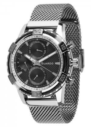 Zegarek Guardo B01352(2)-1 Srebrny