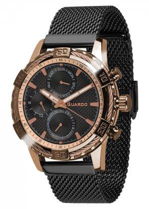Zegarek Guardo B01352(2)-4 Różowe Złoto