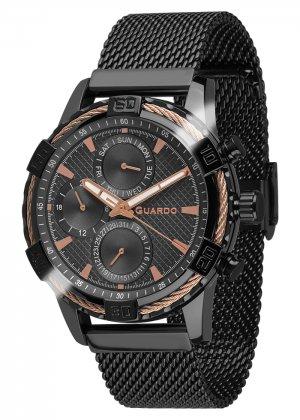 Zegarek Guardo B01352(2)-5 Czarny