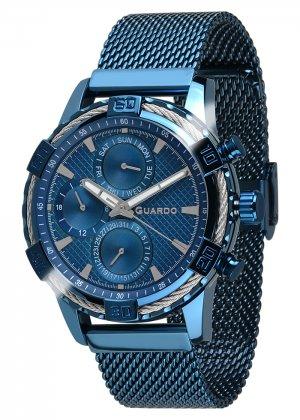 Zegarek Guardo B01352(2)-7 Niebieski