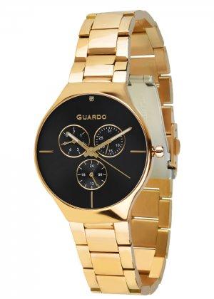 Zegarek Guardo B01398(1)-2 Złoty