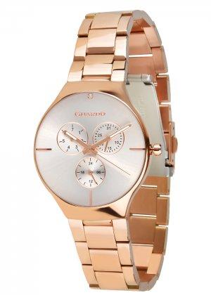Zegarek Guardo B01398(1)-3 Różowe Złoto
