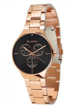 Zegarek Guardo B01398(1)-4 Różowe Złoto