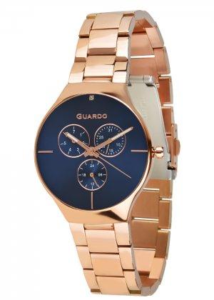 Zegarek Guardo B01398(1)-5 Różowe Złoto