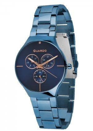Zegarek Guardo B01398(1)-7 Niebieski