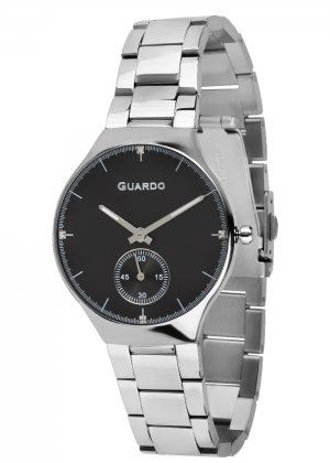 Zegarek Guardo B01398(2)-1 Srebrny