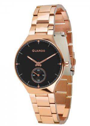Zegarek Guardo B01398(2)-4 Różowe Złoto