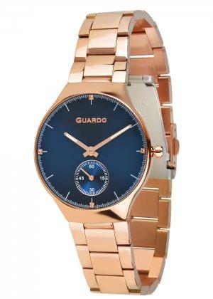 Zegarek Guardo B01398(2)-5 Różowe Złoto