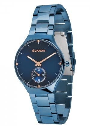 Zegarek Guardo B01398(2)-7 Niebieski