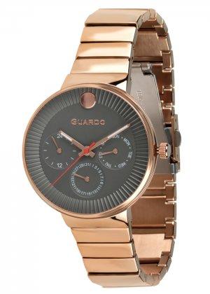 Zegarek Guardo B01400(1)-4 Różowe Złoto