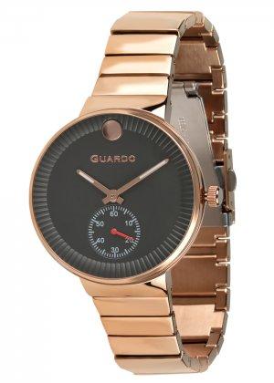 Zegarek Guardo B01400(2)-4 Różowe Złoto