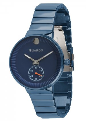 Zegarek Guardo B01400(2)-6 Niebieski