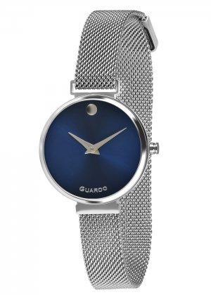 Zegarek Guardo B01401-2 Srebrny
