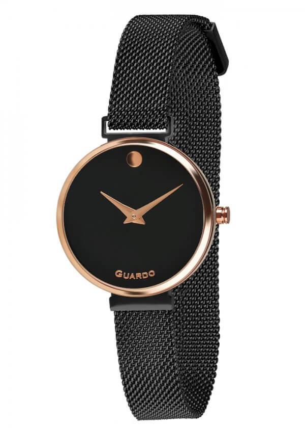 Zegarek Guardo B01401-6 Różowe Złoto