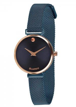 Zegarek Guardo B01401-7 Różowe Złoto