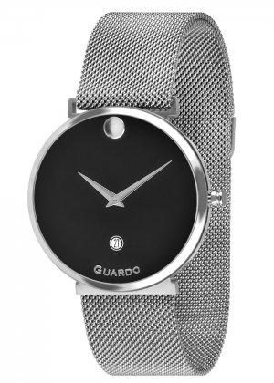 Zegarek Guardo B01402-1 Srebrny