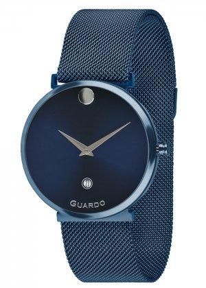 Zegarek Guardo B01402-10 Niebieski