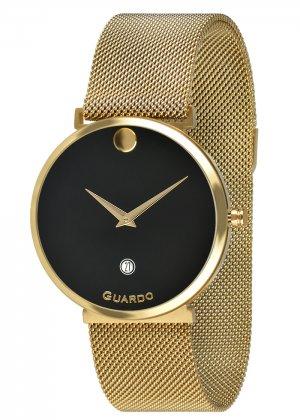Zegarek Guardo B01402-3 Złoty