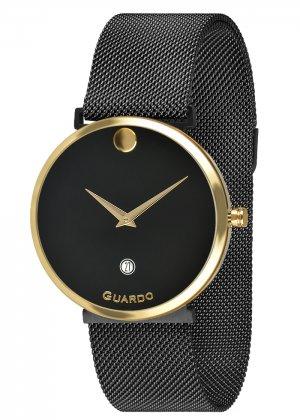 Zegarek Guardo B01402-4 Złoty