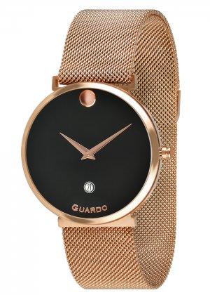 Zegarek Guardo B01402-5 Różowe Złoto