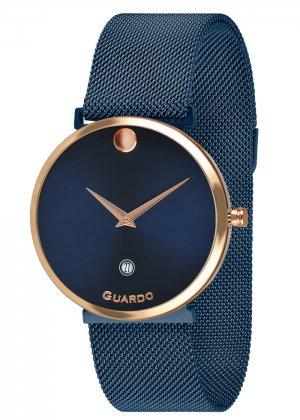 Zegarek Guardo B01402-7 Różowe Złoto