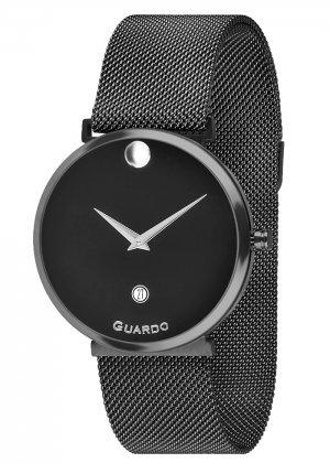 Zegarek Guardo B01402-8 Czarny