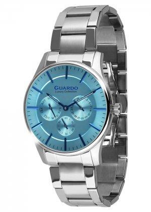Męski zegarek Na bransolecie Guardo S01216-3