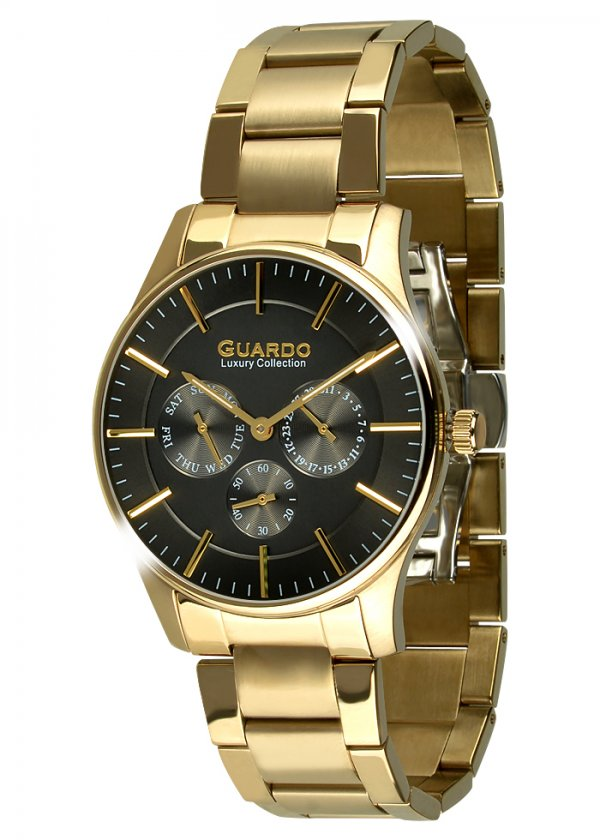 Męski zegarek Na bransolecie Guardo S01216-5