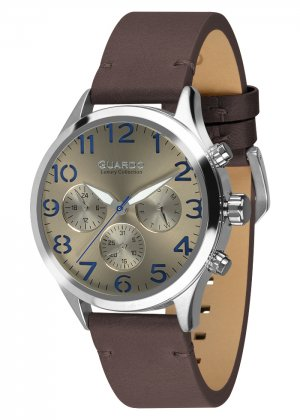 Męski zegarek Na pasku Guardo S01353-1