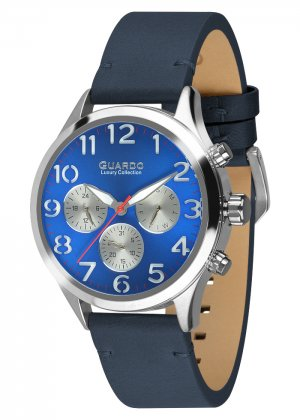 Męski zegarek Na pasku Guardo S01353-2