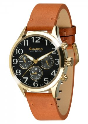 Męski zegarek Na pasku Guardo S01353-3