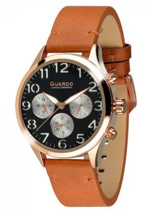Męski zegarek Na pasku Guardo S01353-4