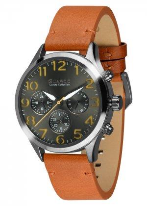 Męski zegarek Na pasku Guardo S01353-5