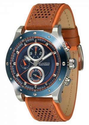 Męski zegarek Na pasku Guardo S01355-4