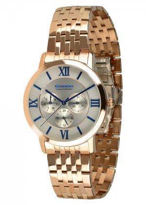 Damski zegarek Na bransolecie Guardo S01953-5