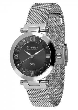 Damski zegarek Na bransolecie mesh Guardo S02071-1