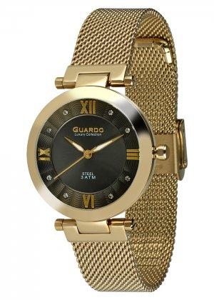 Damski zegarek Na bransolecie mesh Guardo S02071-3