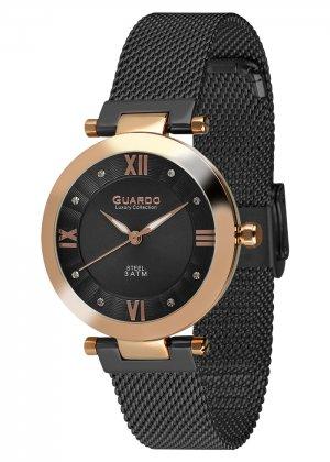 Damski zegarek Na bransolecie mesh Guardo S02071-4