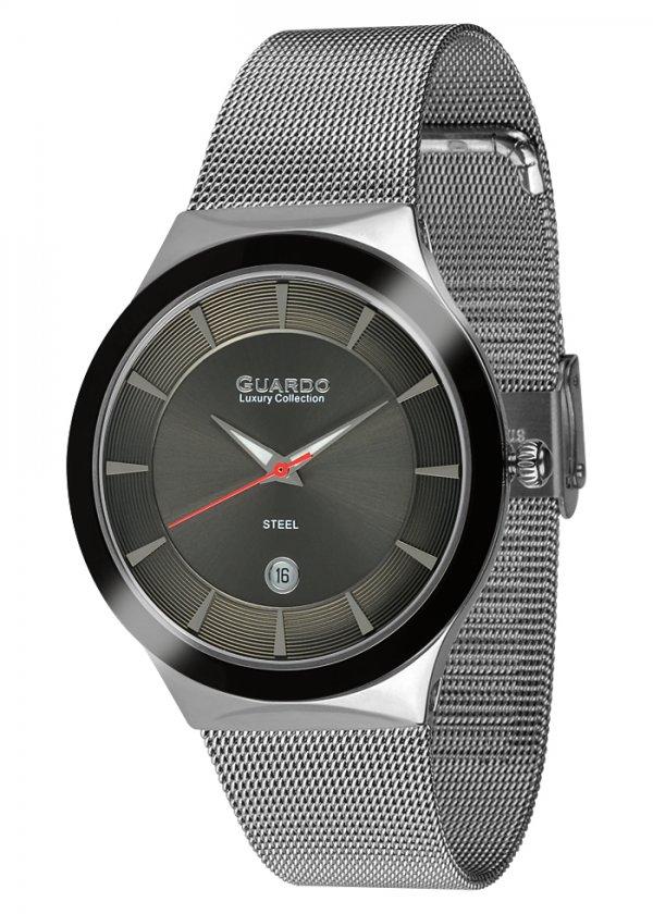 Damski zegarek Na bransolecie mesh Guardo S02101-1