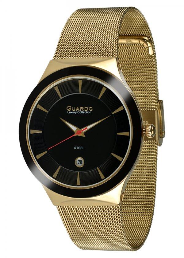 Damski zegarek Na bransolecie mesh Guardo S02101-2