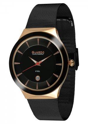 Damski zegarek Na bransolecie mesh Guardo S02101-3