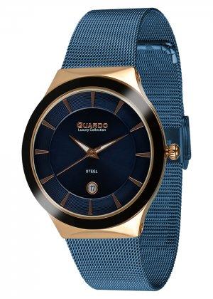 Damski zegarek Na bransolecie mesh Guardo S02101-4