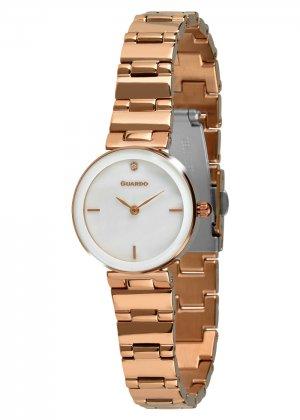 Zegarek Guardo T01070-8 Różowe Złoto